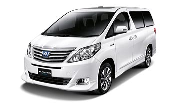 Rental Toyota Alphard Padang